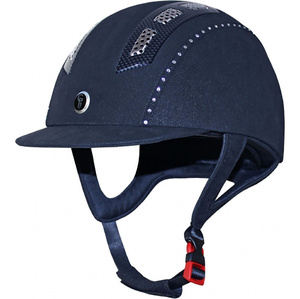 Gatehouse Chelsea Air Flow Pro Suedette Crystal Riding Hat Navy