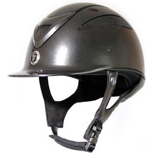 Gatehouse Conquest MK2 Riding Hat Metallic Black