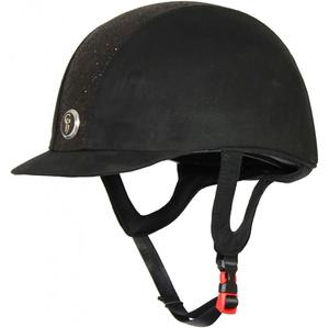 Gatehouse Childrens Jeunesse Glitter Riding Hat Black