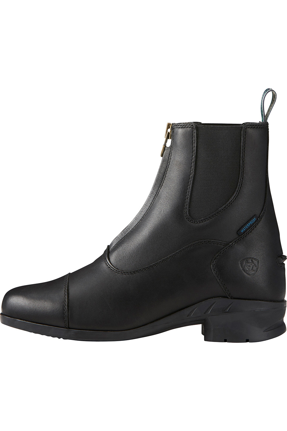 Ariat Heritage Iv Zip Short Riding Boots Black The