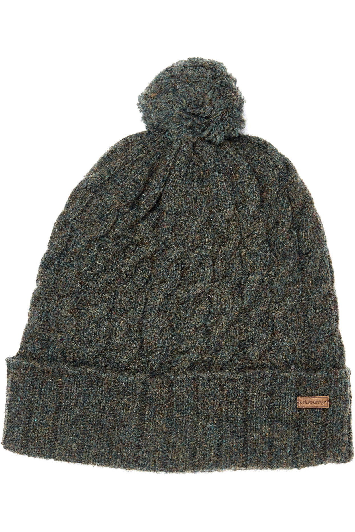 c7966248195 Dubarry Athboy Knited Bobble Hat Olive ...