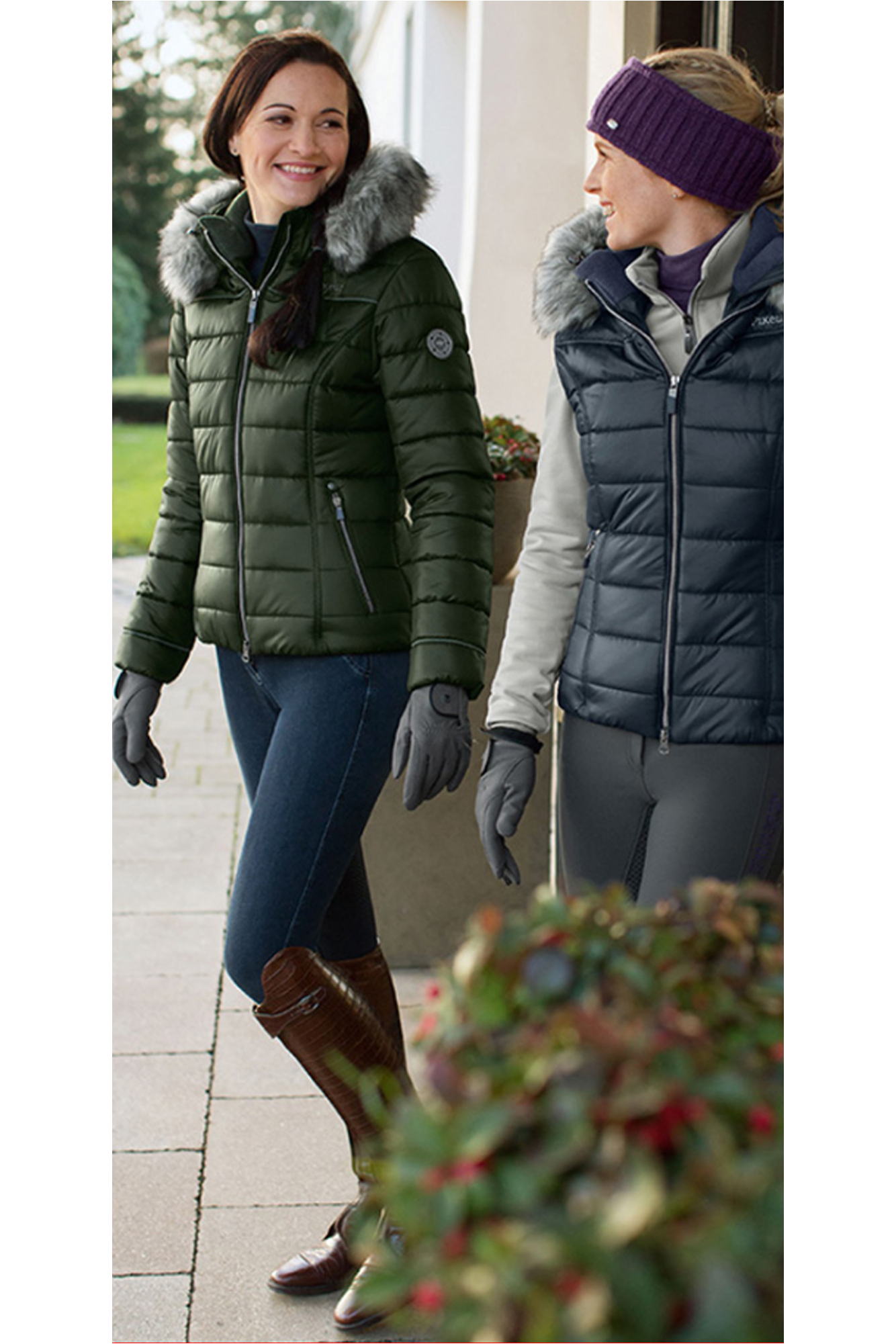 6601c65ea6c Pikeur Womens Amal Quilted Jacket Pine Green ...