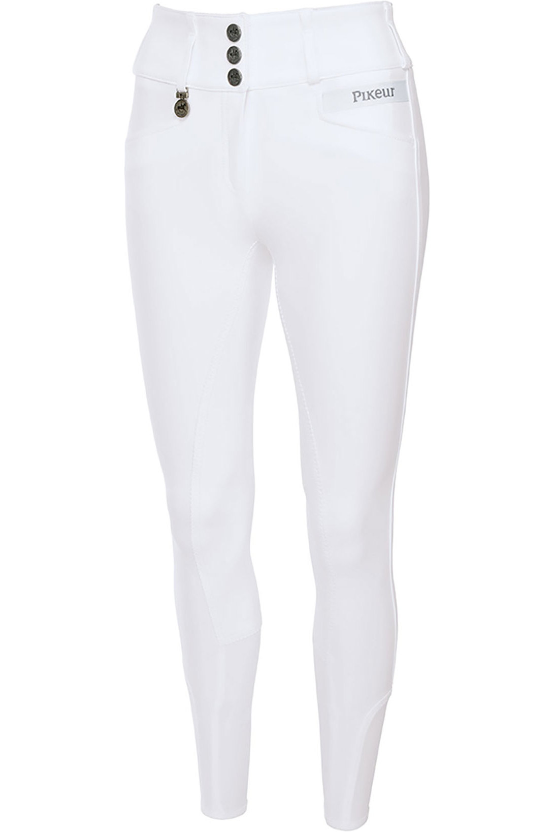 Pikeur Womens Candela Grip Breeches White