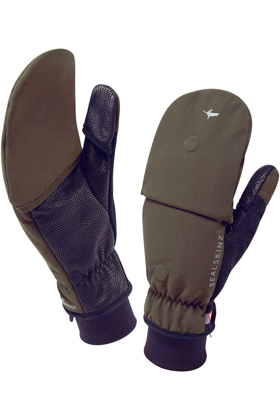 Sealskinz Outdoor Sports Mittens Olive The Drillshed