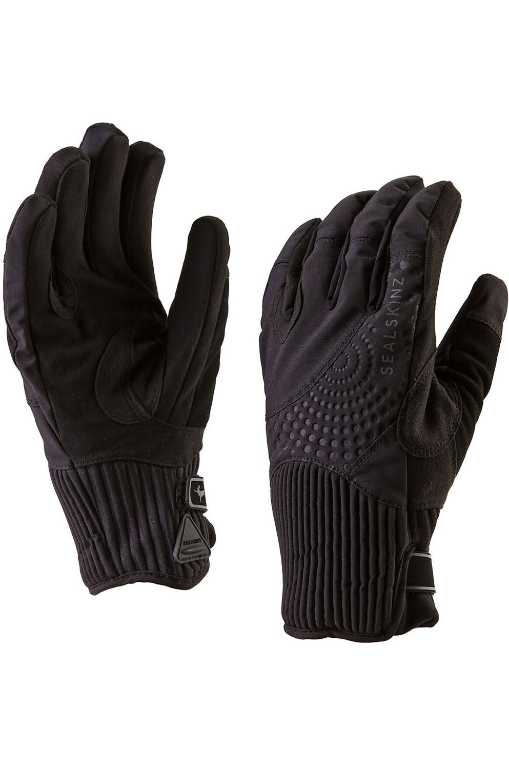 Sealskinz Womens Elgin Riding Gloves Black The Drillshed