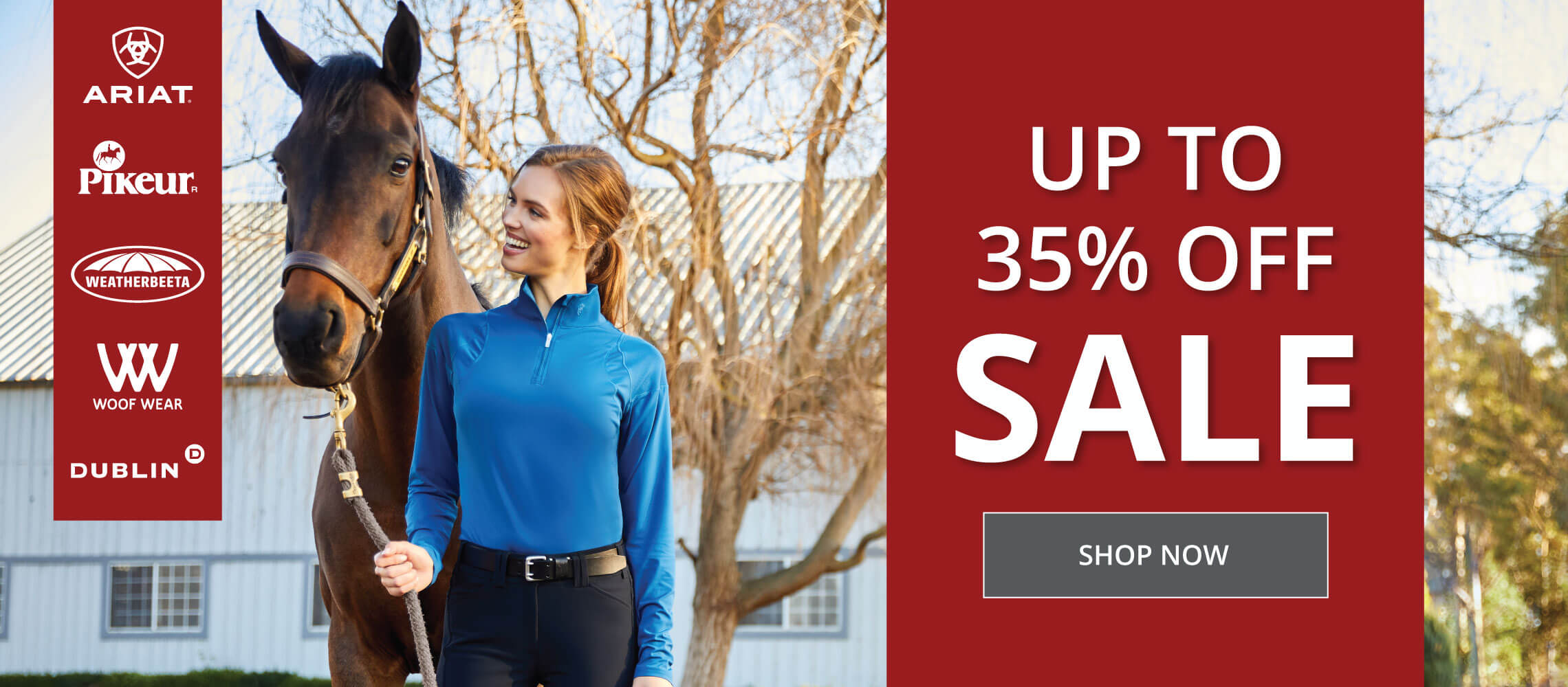 Up to 35% off sale