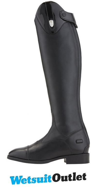 Ariat Womens Monaco Tall Stretch Zip Riding Boots Black