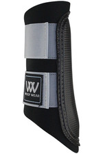 Woof Wear Club Brushing Boot - Brushed Steel