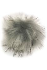 Woof Wear Attachable Pom-Pom GREY