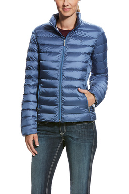 Ariat Womens Ideal Down Jacket Blue