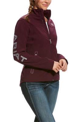 Ariat Womens New Team Softshell Jacket Beetroot