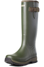 Ariat Mens Burford Rubber Boot - Olive Green 10035837
