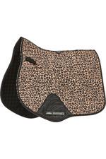 Weatherbeeta Prime Leopard All Purpose Saddle Pad 1006957001 Brown Leopard Print