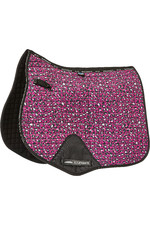 Weatherbeeta Prime Leopard All Purpose Saddle Pad 1006957004 Pink Leopard Print