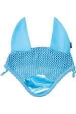 2021 Weatherbeeta Prime Marble Ear Bonnet 1008704 - Blue Swirl