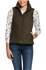 Ariat Womens Terrace Insulated Vest - Banyan Bark