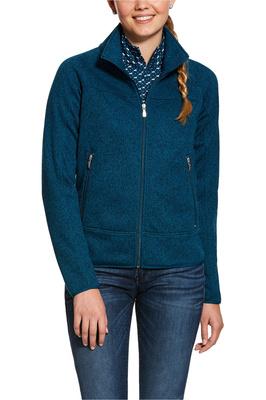 Ariat Womens Sovereign Full Zip Jacket - Dream Teal