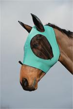 Weatherbeeta Stretch Bug Eye Saver With Eyes - Turquoise / Black