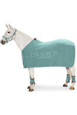2021 Eskadron Fleece Stamp Sweat Rug 111270 - Balsam green