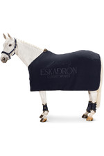2021 Eskadron Fleece Stamp Sweat Rug 111270 - Navy