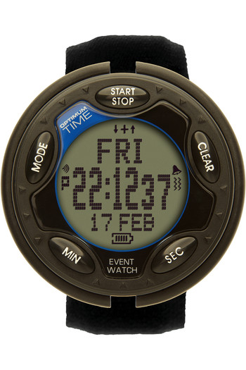 2021 Optimum Time OE Series 14R Rechargeable Jumbo Event Watch OE1461R - Black