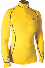 2021 Woof Wear Performance Riding Shirt WA0001 - Sunshine Yellow