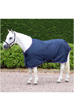 2021 Hy Equestrian Signature Lightweight 0g Turnout Rug 2792 - Navy