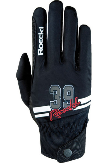 Roeckl Mayfair Riding Gloves Black / White