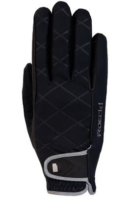 Roeckl Womens Julia Riding Gloves Black