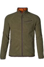 Seeland Mens Vantage Reversible Fleece 130211369 - Pine green / InVis Orange