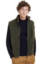 Aigle Mens Sheppera Fleece Vest Bronze NS18JR01