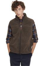 Aigle Mens Sheppera Fleece Vest Marron  NS18JR01