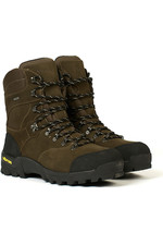 Aigle Altavio Hi Gortex Boots - Sepia / Black