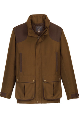 Aigle Mens Huntino Waterproof Jacket Bronze