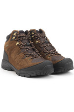 Aigle Mens Vedur Mid Waterproof Boots - Dark Brown