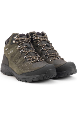Aigle Vidur Mid Mens Waterproof MTD Boots Khaki / Black