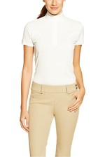 Ariat Womens Aptos Show Shirt White