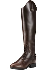 Ariat Womens Bromont Pro Tall H2O Insulated Long Riding Boots Waxed Chocolate