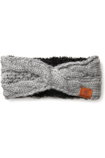 Ariat Womens Cable Headband - Sleet