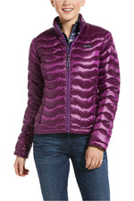 Ariat Womens Ideal 3.0 Down Jacket - Irid Imperial Violet