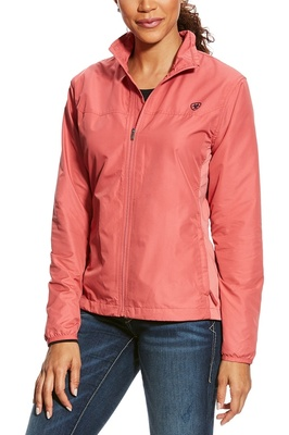 Ariat Womens Ideal Windbreaker Jacket Frayed Red