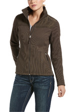 Ariat Womens Kalispell Full Zip Sweater - Banyan Bark