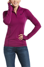 Ariat Womens Lowell 2.0 1/4 Zip Top - Imperial Violet