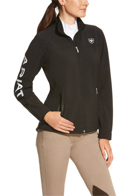 Ariat Womens New Team Softshell Jacket Black