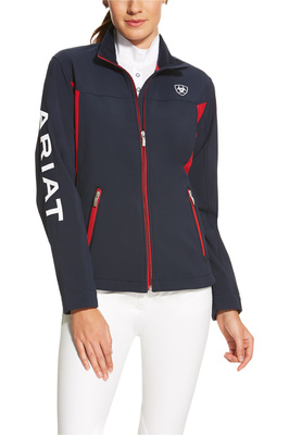 Ariat Womens New Team Softshell Jacket Navy