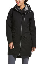 Ariat Womens Tempest Insulated H20 Parka - Black / Grey