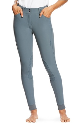 Ariat Womens Tri Factor Grip KP Breeches Weathered Slate