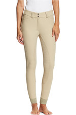 Ariat Womens Tri Factor Grip Full Seat Breeches Tan
