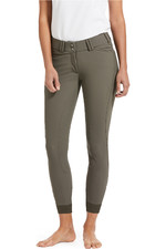 Ariat Womens Tri Factor Grip Fullseat Breech - Banyan Bark
