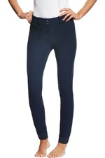 Ariat Womens Tri Factor Grip Knee Patch Breeches Navy